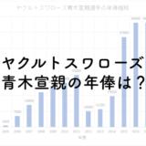 ヤクルトスワローズ青木宣親の年俸は?2019年は3.3億円!のアイキャッチ画像