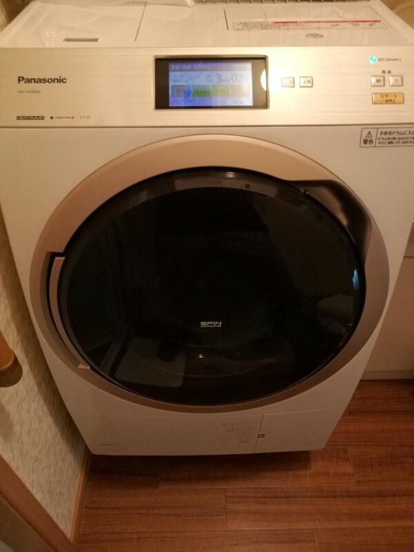 ドラム式洗濯乾燥機「NA-VX9800の画像」