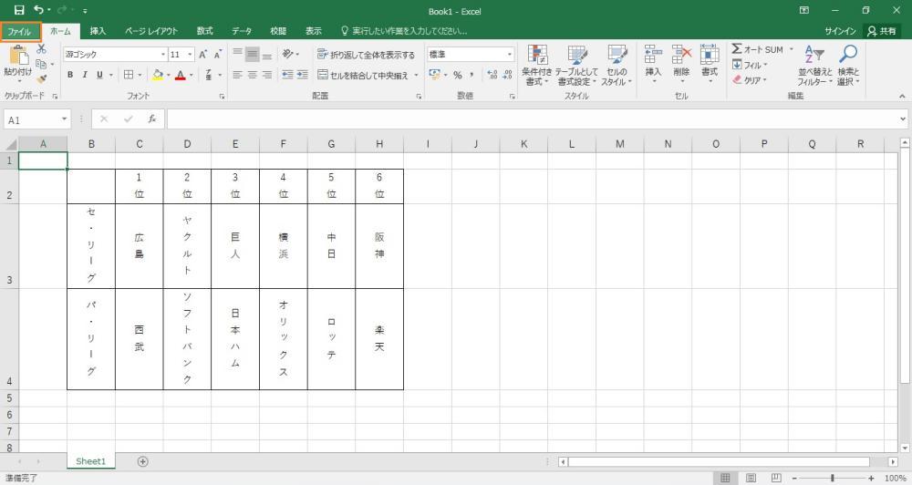 エクセルの縦書きで左から右(右から左)に設定変更する手順を示した画像4