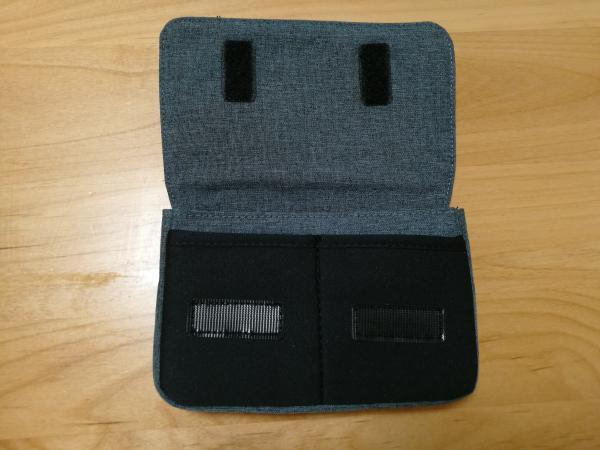 「BMA-GP05」のマジックテープを開いた画像