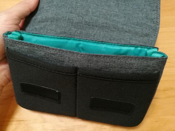 「BMA-GP05」の手前の小物部品用のポケットの画像