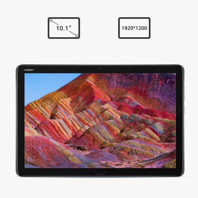 「MediaPad M5 lite 10」はフルHDクラスの高精細ディスプレイを搭載