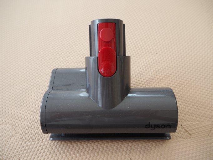 「ダイソン V10 Fluffy SV12FF」のミニモーターヘッド